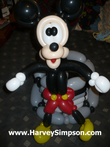 Cartoon Mouse from Anaheim