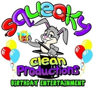 Birthday Party Web Site Link - Squeaky Clean Productions
