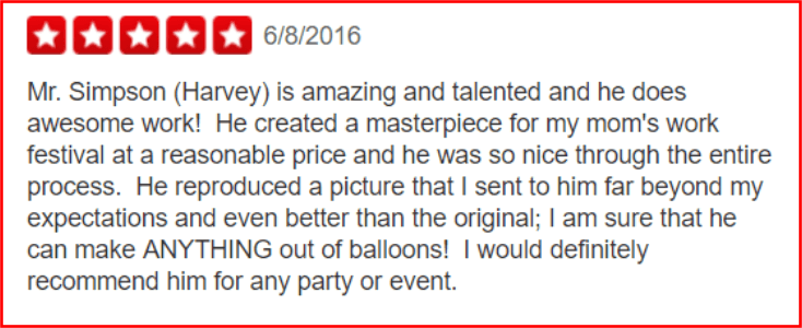 Yelp Review - Los Angeles - Squeaky Clean Productions